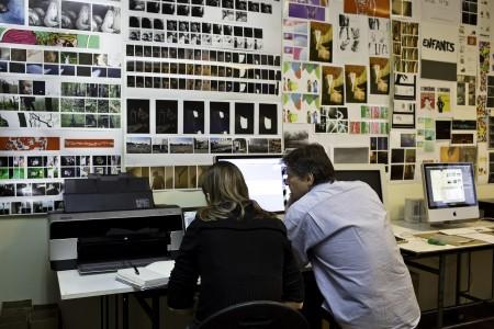 Atelier édition - impression au traceur