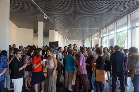 Vernissage de l'exposition des diplômés - Tête à tête, Galerie de l'ESAL,2017