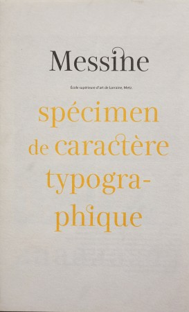 Messine - volet 1