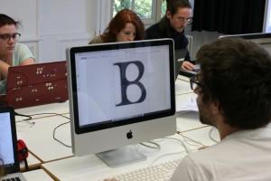 Workshop typographie, déc. 2016