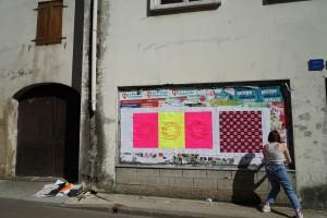 Workshop Les murs voix, Le signe (Chaumont), mai 2021