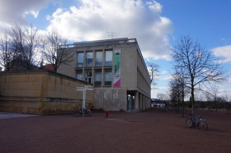 Vue de l'extension du bâtiment de l'ESAL