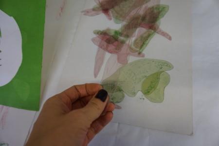 Images imprimées avec Noémie Privat