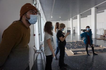 Workshop William Kentridge - ESAL. Crédits : Juliette Férard /ESAL